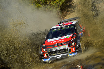 Sebastien Loeb FIA World Rally Championship Mexico - Day Two