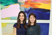 Host Natalie Zfat (L) and Founder & CEO at MM.LaFleur Sarah LaFleur attend the Second Act VIP Screening powered by Lyft and MM.LaFleur on November 19, 2018 in New York City.
