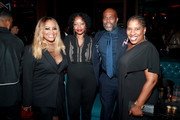 """Lalah Hathaway, guest, Chris Spencer, and Rose Catherine Pinkney attend the Second Annual 'Celebrate The Culture II' Celebrates Diversity In Hollywood Presented By PATRÃ""""N Tequila at Avenue on September 22, 2019 in Los Angeles, California."""