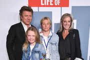 Richard Wilkins and his family attend the Australian premiere of 'The Secret Life of Pets 2' during the Sydney Film Festival on June 06, 2019 in Sydney, Australia.