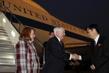 Kazuyoshi Umemoto U.S. Secretary of Defense Robert Gates on Four-day Visit to China