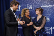 Jaymes Vaughan,  Rachel Smith and Helena Bonham Carter attend the SeeHer platform at the 26th annual Screen Actors Guild Awards. @seeHER2020 at The Shrine Auditorium on January 19, 2020 in Los Angeles, California.