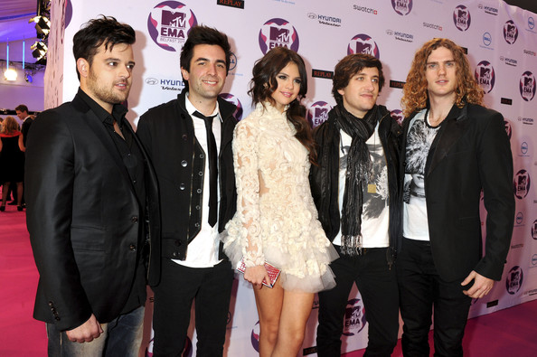 Selena Gomez MTV Europe Music Awards Hostess Selena Gomez and The Scene attend the MTV Europe Music Awards 2011 at the Odyssey Arena on November 6, 2011 in Belfast, Northern Ireland.