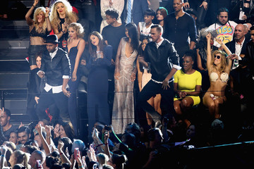Selena Gomez Taylor Swift Audience at the MTV Video Music Awards