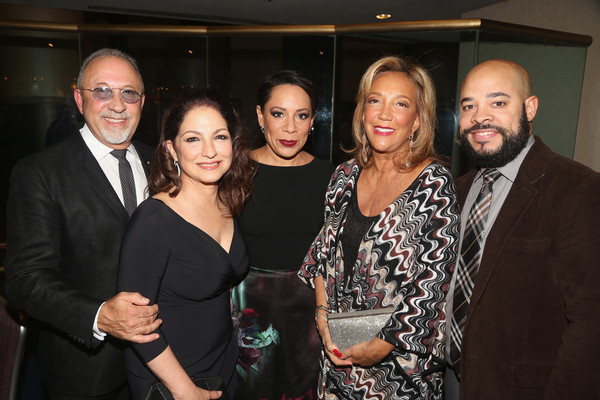 Denise Rich, Emilio & Gloria Estefan and Selenis Leyva Celebrate Special Performance of 'ON YOUR FEET!'