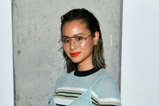 Jamie Chung attends the Self-Portrait Fall Winter 2020 fashion show on February 08, 2020 in New York City.