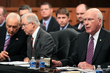 Orin Hatch Senate Judiciary Committee Meets To Vote On Kagan Confirmation