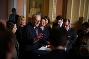 Charles Schumer Amy Klobuchar Photos Photo