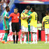 Radamel Falcao Photos - Radamel Falcao of Colombia hands over his captains armband to Carlos Sanchez of Colombia as Radamel Falcao is substituted off during the 2018 FIFA World Cup Russia group H match between Senegal and Colombia at Samara Arena on June 28, 2018 in Samara, Russia. - Senegal vs. Colombia: Group H - 2018 FIFA World Cup Russia