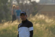 Thaworn Wiratchant of Thailand in action during the first round of the Senior Open presented by Rolex played at The Old Course on July 26, 2018 in St Andrews, Scotland.