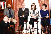 """Director Ritesh Batra, Jim Boardbent, Michelle Dockery and Harriet Walter attend the """"The Sense of an Ending"""" Lunch & Q and A at The Lotus Club on March 7, 2017 in New York City."""