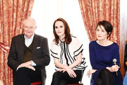 """Jim Boardbent, Michelle Dockery, Harriet Walter attend the """"The Sense of an Ending"""" Lunch & Q and A at The Lotus Club on March 7, 2017 in New York City."""