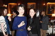 """Actress Harriet Walter and Director Julie Taymor attend the """"The Sense of an Ending"""" Lunch & Q and A at The Lotus Club on March 7, 2017 in New York City."""