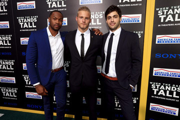 Ser'Darius Blain Matthew Daddario 'When the Game Stands Tall' Premieres in Hollywood