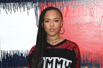Serayah TommyLand Tommy Hilfiger Spring 2017 Fashion Show - Front Row & Atmosphere