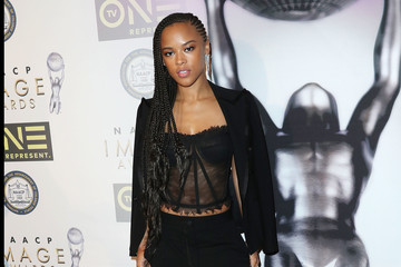 Serayah 48th NAACP Image Awards Non-Televised Awards Ceremony