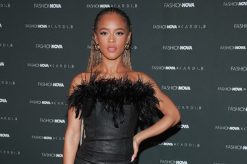 Serayah McNeill Fashion Nova x Cardi B Collection Launch Party - Arrivals