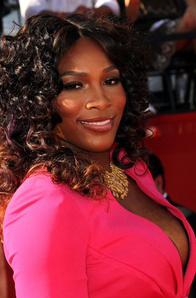 Serena Williams Tennis Player Serena Williams arrives at The 2011 ESPY Awards at Nokia Theatre L.A. Live on July 13, 2011 in Los Angeles, California.