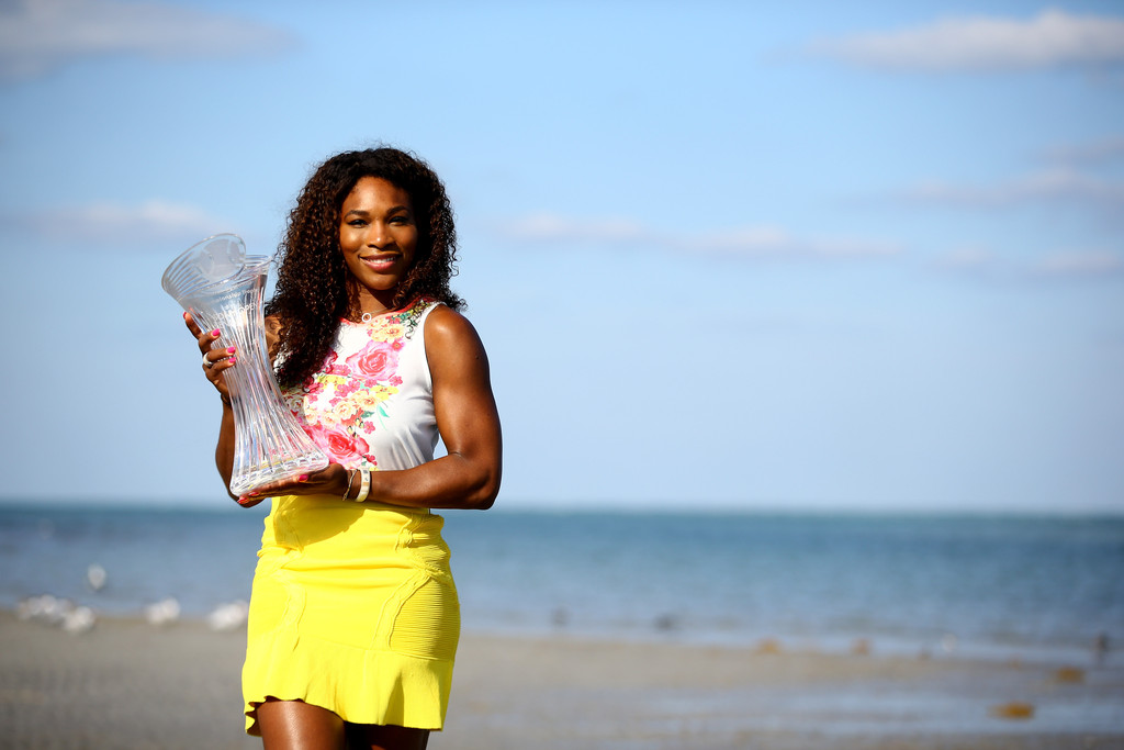Serena Williams - 2013 Sony Open Tennis - Day 13