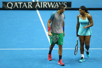Serena Williams Coca-Cola International Premier Tennis League: Day 1