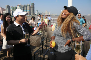 Serena Williams Dongfeng Motor Wuhan Open: Day 2