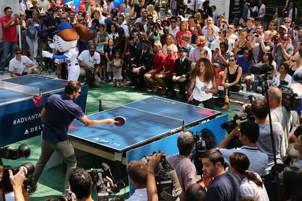Celebrity Solstice Table Tennis Tournament - YouTube