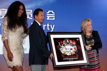 Serena Williams Stacey Allaster China Open: Day 3