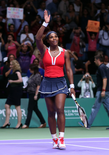 Serena Williams - TEB BNP Paribas WTA Championships - Istanbul 2012: Day Six