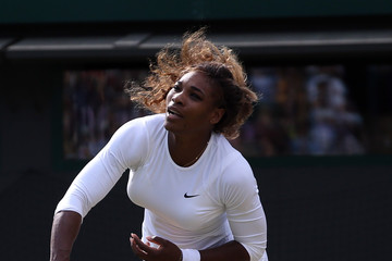 Serena Williams Wimbledon: Day 8