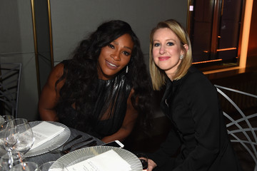 Serena Williams Cindi Leive Hosts The 2015 Glamour Women of the Year Awards Dinner