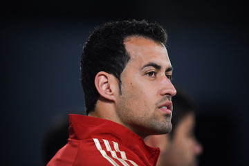 Sergio Busquets Team Spain Press Conference