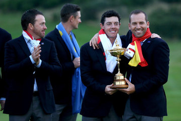 Sergio Garcia Rory McIlroy Singles Matches - 2014 Ryder Cup
