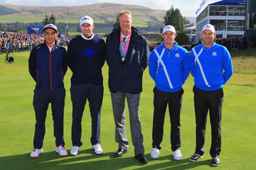 Sergio Garcia Rory McIlroy Afternoon Foursomes