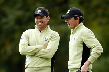 Sergio Garcia Rory McIlroy Ryder Cup - Day One Foursomes