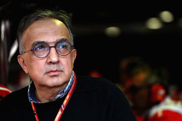 Sergio Marchionne F1 Grand Prix of Italy - Qualifying