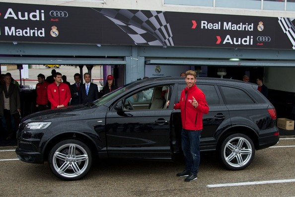 photo of Sergio Ramos Audi Q7 - car