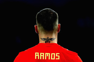Sergio Ramos Spain Vs. Morocco: Group B - 2018 FIFA World Cup Russia
