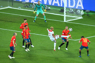 Sergio Ramos Thiago Spain Vs. Morocco: Group B - 2018 FIFA World Cup Russia