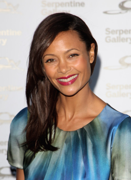 Thandie Newton attends The Serpentine Gallery Summer Party at The Serpentine Gallery on July 9, 2009 in London, England.
