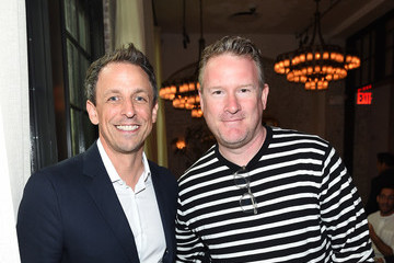 Seth Meyers GOOD+ Foundation & MR PORTER Host Fatherhood Lunch With Jerry Seinfeld in New York City