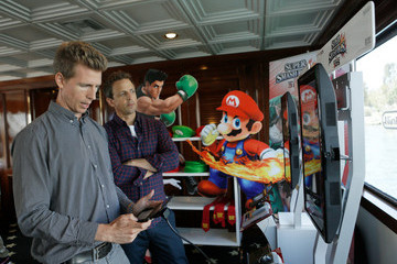 Seth Meyers Nintendo Lounge On The TV Guide Magazine Yacht At Comic-Con #TVGMYacht - Day 3