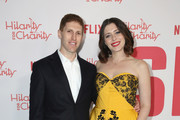 HFC Board Member and Event Committee Member Daniel Miller and Lauren Miller attends Seth Rogen's Hilarity For Charity at Hollywood Palladium on March 24, 2018 in Los Angeles, California.