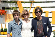 Hilario Figueras, Delfina Blaquier and Nacho Figueras attend the seventh annual Veuve Clicquot Polo Classic in Liberty State Park on May 31, 2014 in Jersey City City.