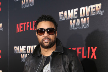 Shaggy The Premiere Of Netflix Film 'Game Over, Man!' At The Regency Village Westwood In Los Angeles