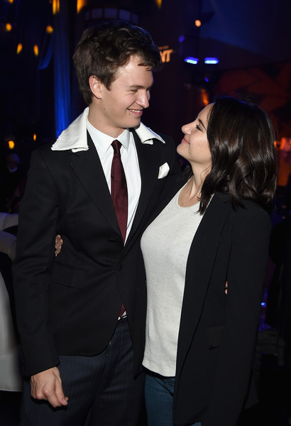 'Allegiant' New York Premiere - After Party [suit,formal wear,event,tuxedo,fashion,premiere,outerwear,blazer,fun,white-collar worker,shailene woodley,ansel elgort,new york,cipriani 42nd street,allegiant,party,new york premiere,premiere]