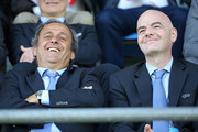 Michel Platini and Gianni Infantino Photos Photo