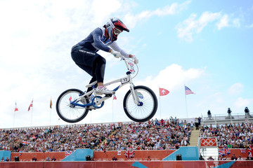 Shanaze Reade Olympics Day 12 - Cycling - BMX