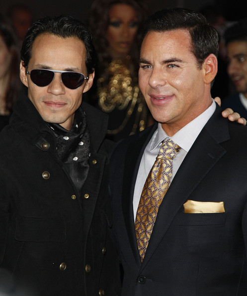 Scott Barnes Musician Marc Anthony and makeup stylist Scott Barnes