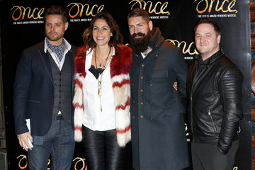 Shane Lynch 'Once' Press Night Arrivals