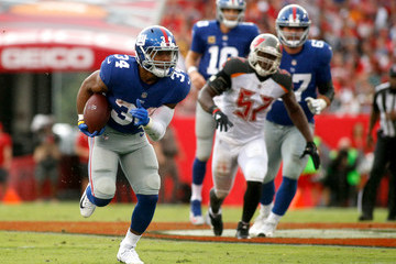 Shane Vereen New York Giants v Tampa Bay Buccaneers